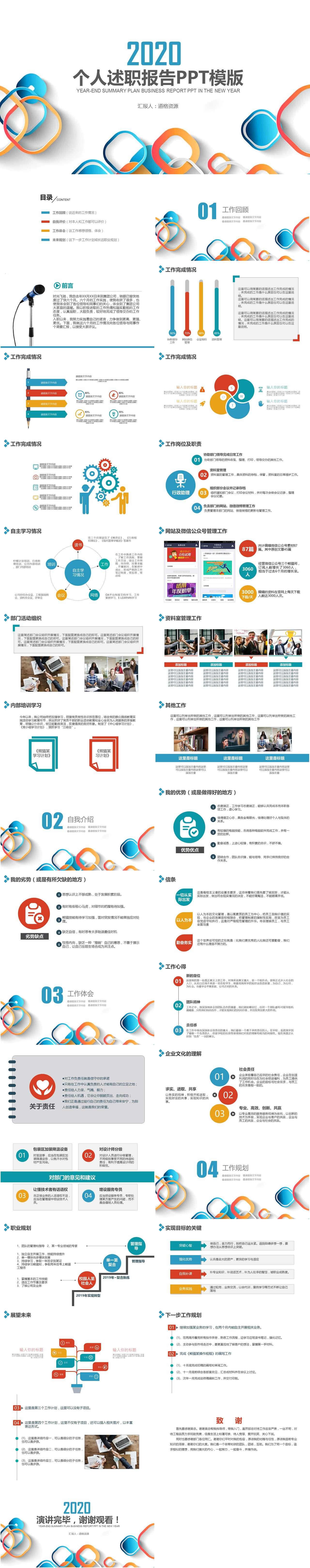 21款让你成功加薪升职的述职报告模板分享插图13