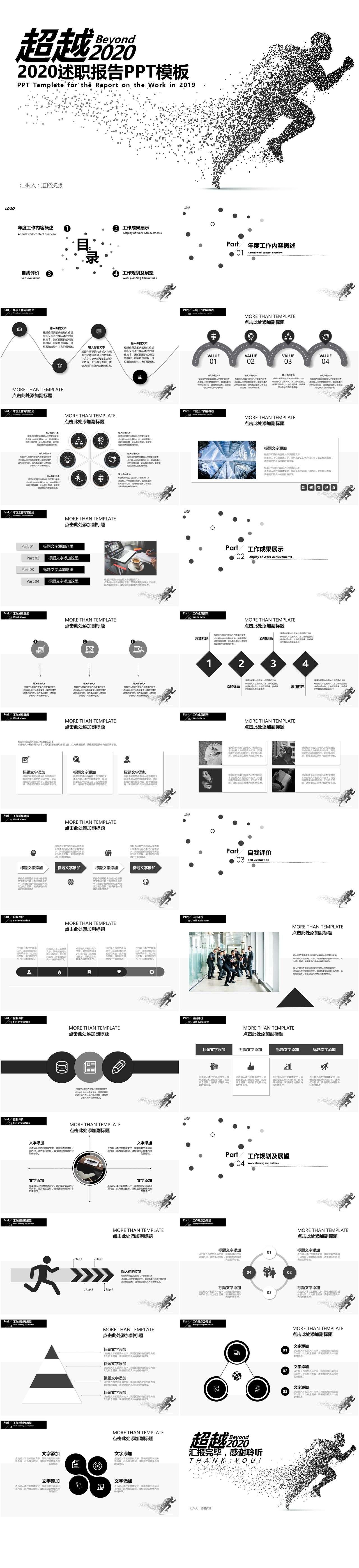 21款让你成功加薪升职的述职报告模板分享插图16