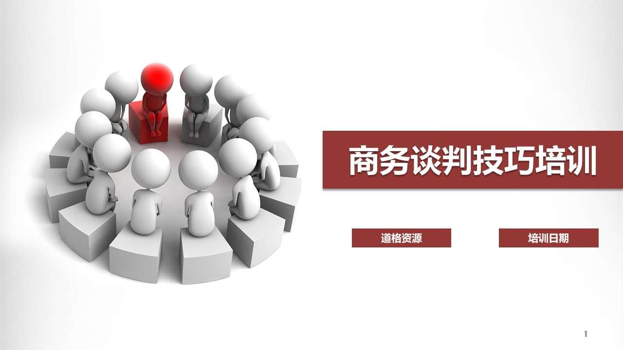 谈判技巧沟通技巧企业培训