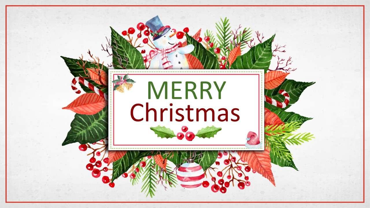 创意圣诞节圣诞活动策划通用PPT模板